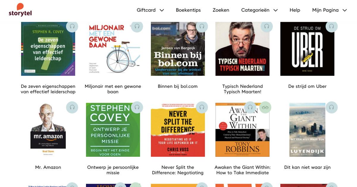 Storytel review - 14 dagen gratis abonnement