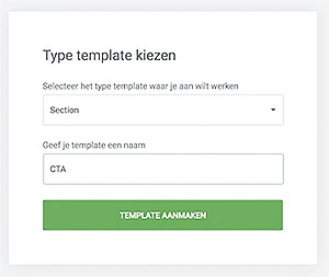 Call to action maken