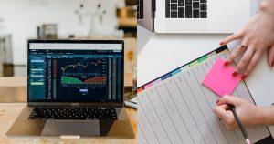Overeenkomst tussen beleggen en online ondernemen