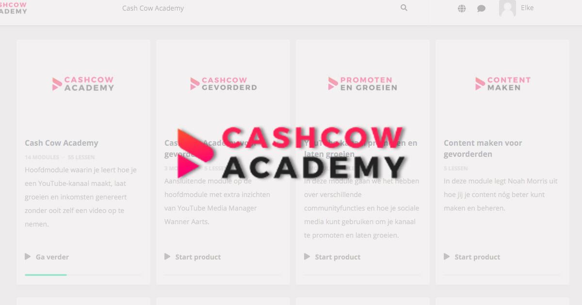 Cash Cow Academy - Jelline Brands (review)