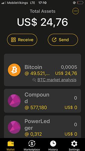 Coolwallet S - Wallet app
