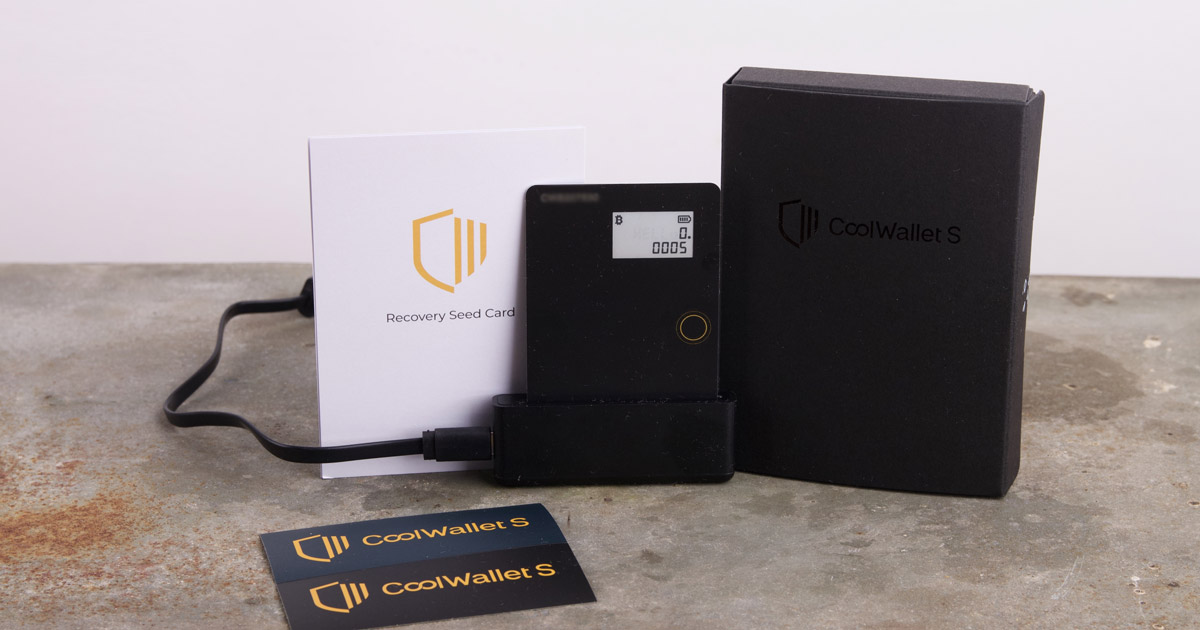 Coolwallet S review