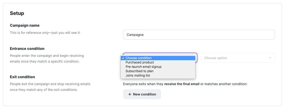 E-mailmarketing campaign Podia