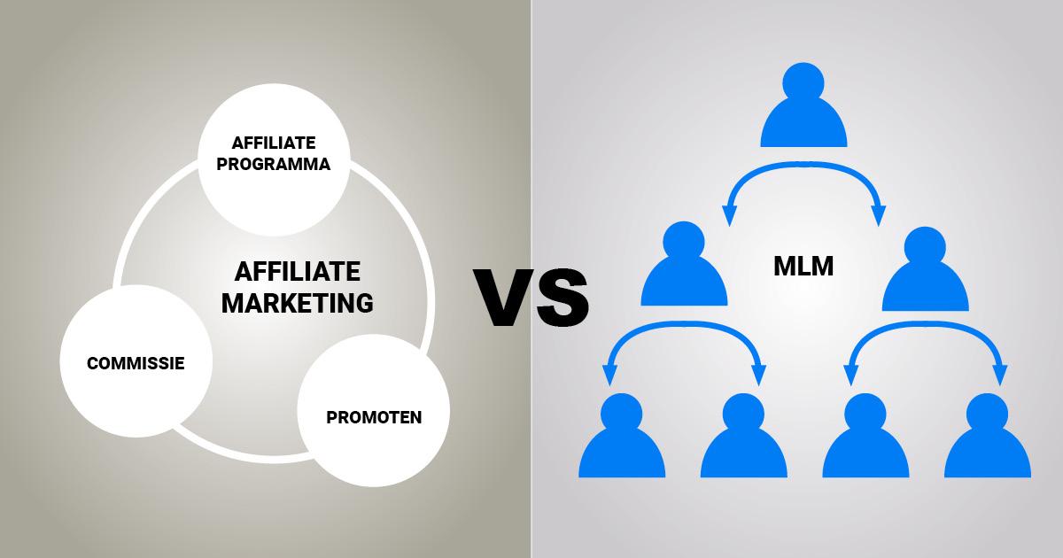 Affiliate marketing vs MLM, multi level marketing